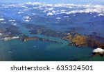 aerial view of the marlborough... | Shutterstock . vector #635324501