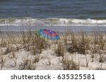 A Colorfully Striped Beach...
