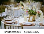 original wedding floral... | Shutterstock . vector #635333327
