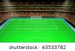 football stadium | Shutterstock . vector #63533782