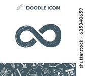 unlimited doodle | Shutterstock .eps vector #635340659