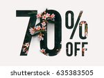 brilliant promotion sale poster ... | Shutterstock . vector #635383505