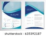template vector design for... | Shutterstock .eps vector #635392187