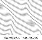 wave stripe background   simple ... | Shutterstock .eps vector #635395295