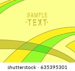 background of smooth curved... | Shutterstock .eps vector #635395301