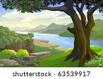 Romantic  Riverside Scenic Spot