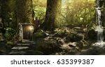 fabulous  magical  mysterious... | Shutterstock . vector #635399387