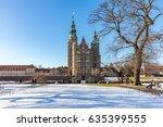 rosenborg castle is a... | Shutterstock . vector #635399555