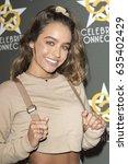 sommer ray attends  celebrity... | Shutterstock . vector #635402429