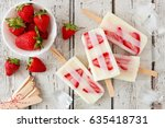 Group Of Homemade Strawberry...