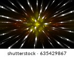 abstract multicolored fractal... | Shutterstock . vector #635429867