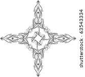 christian cross | Shutterstock .eps vector #63543334
