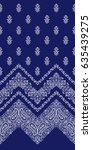 ornament pattern design | Shutterstock .eps vector #635439275