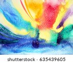 abstract watercolor painting... | Shutterstock . vector #635439605