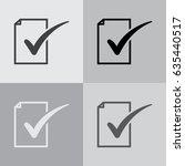 to do icon. vector illustration | Shutterstock .eps vector #635440517