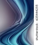 abstract blue background with... | Shutterstock . vector #635444255