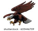 eagle strike | Shutterstock .eps vector #635446709