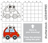 copy the picture using grid... | Shutterstock .eps vector #635449985