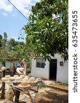 manaca iznaga  trinidad  cuba   ...   Shutterstock . vector #635473655
