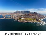 Aerial View Of Cape Peninsula ...