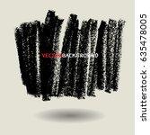 chalk texture background... | Shutterstock .eps vector #635478005