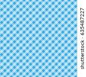 festa junina tartan seamless... | Shutterstock .eps vector #635487227