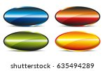 set with different buttons as a ...   Shutterstock . vector #635494289