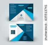 brochure template. business... | Shutterstock .eps vector #635513741