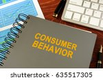book with title consumer...   Shutterstock . vector #635517305