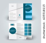 brochure template. business... | Shutterstock .eps vector #635518115
