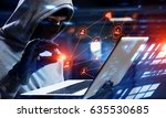 network security and privacy... | Shutterstock . vector #635530685