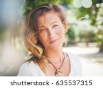portrait of an attractive young ... | Shutterstock . vector #635537315