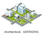 isometric vector illustration... | Shutterstock .eps vector #635542541