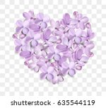 soft pastel color floral 3d... | Shutterstock .eps vector #635544119