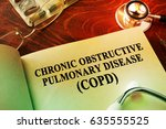 Small photo of Book with title Chronic obstructive pulmonary disease (COPD).