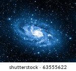 triangulum galaxy | Shutterstock . vector #63555622