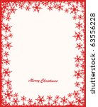 christmas card. vector | Shutterstock .eps vector #63556228