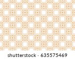 seamless geometric patterns.... | Shutterstock .eps vector #635575469