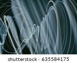cyber spiral space technology.... | Shutterstock . vector #635584175