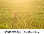Child In The Meadow In The Tal...