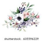 flower bouquet | Shutterstock . vector #635596229