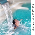 Spa Hydrotherapy Woman...