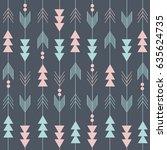boho pattern   Shutterstock .eps vector #635624735