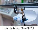 otoscope for diagnosis | Shutterstock . vector #635660891