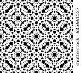 raster monochrome seamless... | Shutterstock . vector #635661527