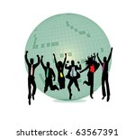 business team success | Shutterstock .eps vector #63567391