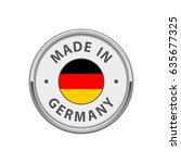"round ""made in germany"" badge... 
