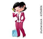 businesswoman | Shutterstock .eps vector #6356806