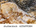 rough stones created naturally. ... | Shutterstock . vector #635699384