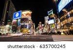 tokyo  japan   circa march ...   Shutterstock . vector #635700245